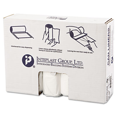 Inteplast Group High-Density Can Liner, 33 x 40,