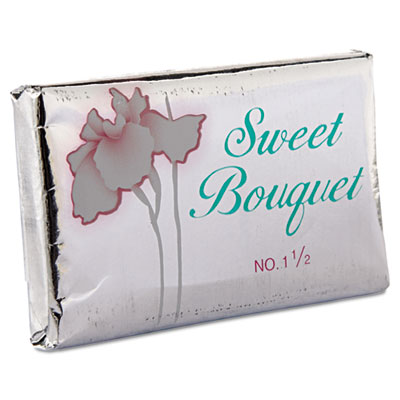 Sweet Bouquet Face and Body Soap, Foil Wrapped, Sweet