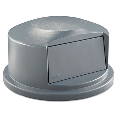Rubbermaid Commercial Round Brute Dome Top w/Push Door,
