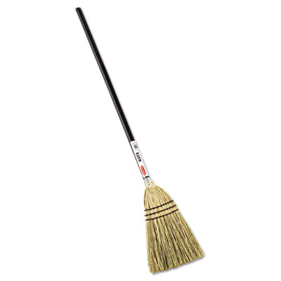 Rubbermaid Commercial Lobby Corn-Fill Broom, 38-in