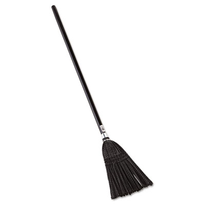Rubbermaid Commercial Lobby Pro Synthetic-Fill Broom, 37