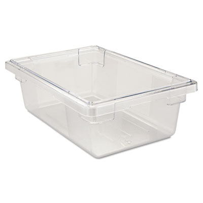 Rubbermaid Commercial Food/Tote Boxes, 3 1/2gal,