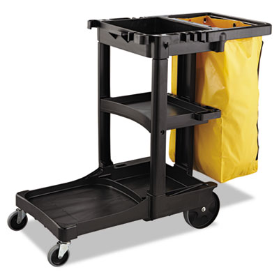 Rubbermaid Commercial Zippered Vinyl Cleaning Cart