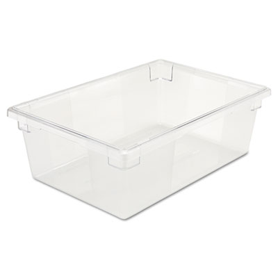 Rubbermaid Commercial Food/Tote Boxes, 12 1/2gal,