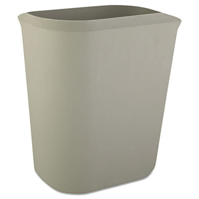 Rubbermaid Commercial Fire-Res. Wastebasket,