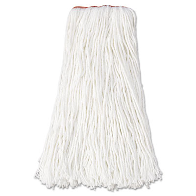 Rubbermaid Commercial Premium Mop Heads, Rayon, Cut-End,