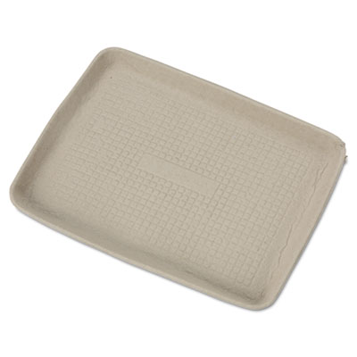 Chinet StrongHolder Molded Fiber Food Trays, 9 x 12 x 1,