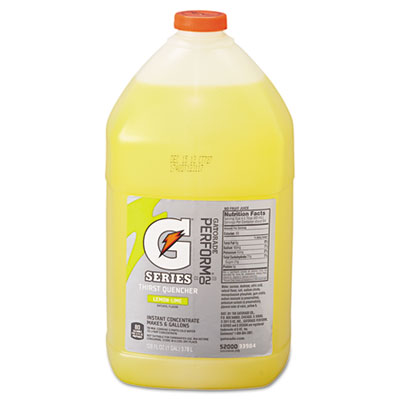 Gatorade Liquid Concentrate, Lemon-Lime, 1 Gallon Jug