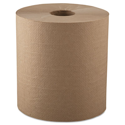 "GEN Hardwound Roll Towels, 1-Ply, Natural, 8"" x 700ft"