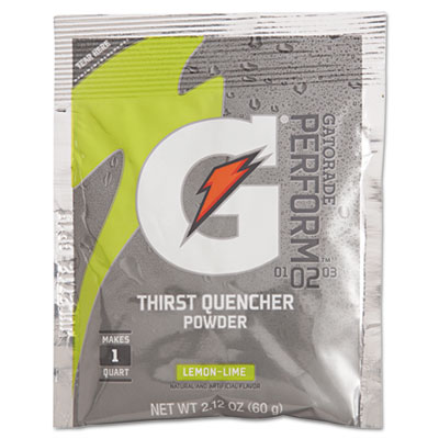 Gatorade G-Series Perform 02 Thirst Quencher, Lemon-Lime,