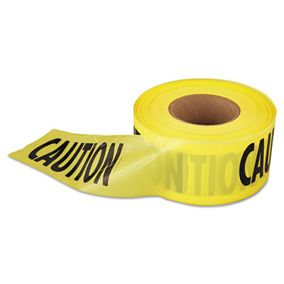 Empire Caution Barricade Tape, 3 in x 1000 ft