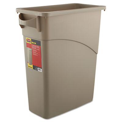 Rubbermaid Commercial Slim Jim Waste Receptacle,