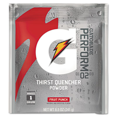 Gatorade Original Powdered Drink Mix, Fruit Punch, 2.12