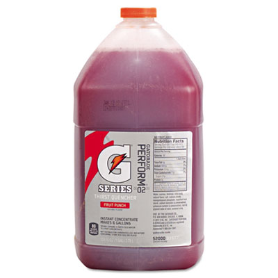 Gatorade Liquid Concentrate, Fruit Punch, 1 Gallon Jug