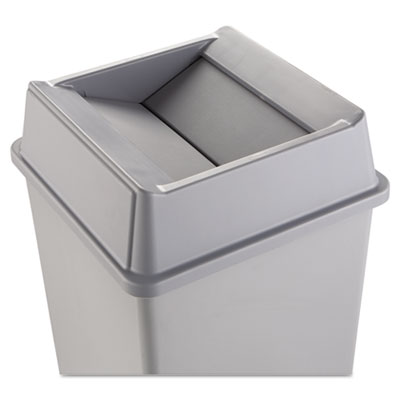 Rubbermaid Commercial Swing Top Lid for Square Waste