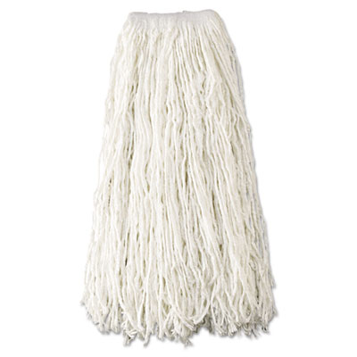 Rubbermaid Commercial Economy Wet Mop Heads, Rayon,