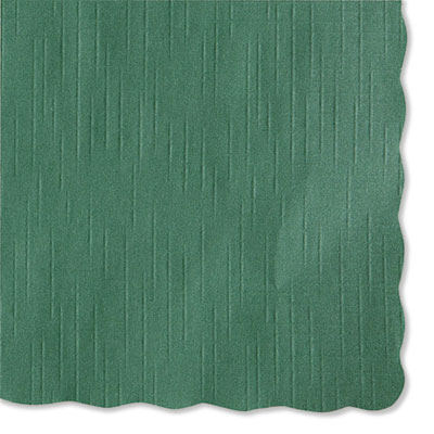 Hoffmaster Solid Color Placemats, 9 3/4 x 14, Hunter