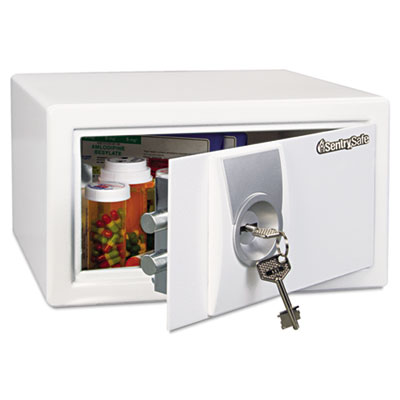 Sentry Safe Med Series Safe, 0.31 ft3, 11-2/5w x 10-2/5d x