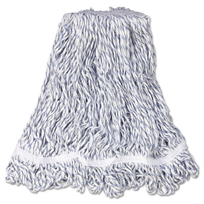 Rubbermaid Commercial Web Foot Finish Mops, White,