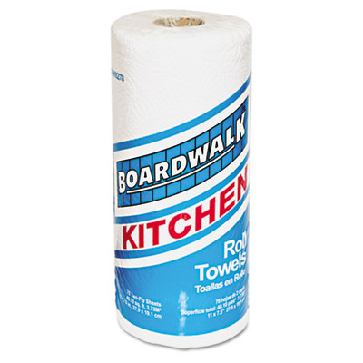 Boardwalk Paper Towel Rolls, Perforated, Two-Ply, 11 x 8,