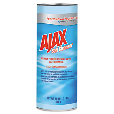 Ajax Soft Powder Cleaner, 21 oz Bottle