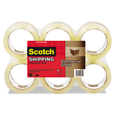 "Scotch 3750 Commercial Grade Packaging Tape, 1.88"" x"