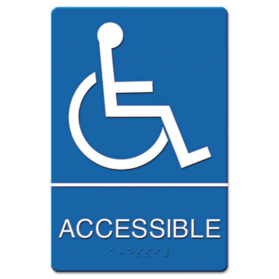 Headline Sign ADA Sign Wheelchair Accessible,