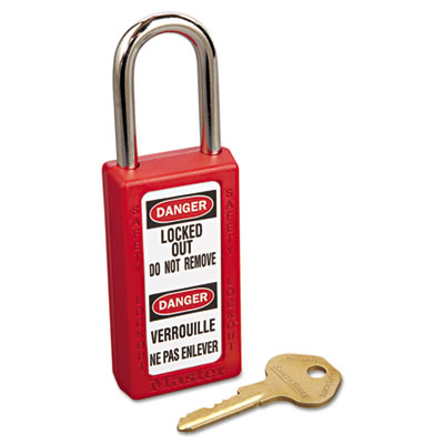 Master Lock Lightweight Zenex Safety Lockout Padlock, 1