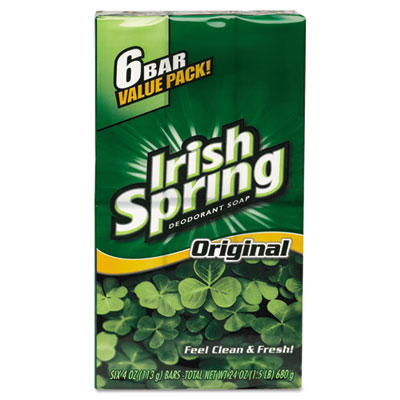 Irish Spring Bath bar soap, Clean Scent, 3.75 oz
