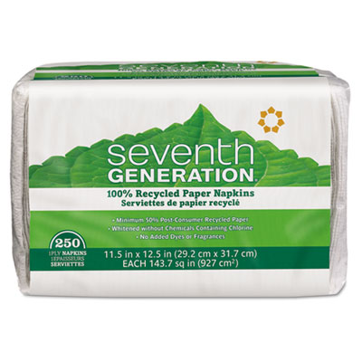 Seventh Generation 100% Recycled Single-Ply Luncheon