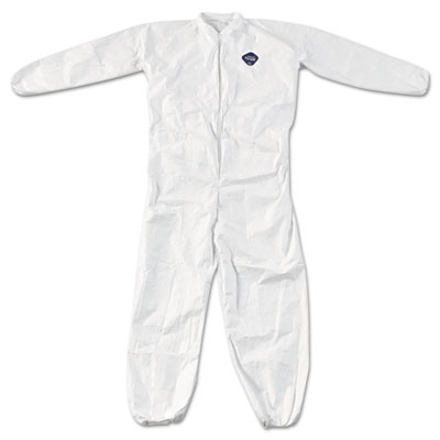 DuPont Tyvek Elastic-Cuff Coveralls, White, XXXX-Large