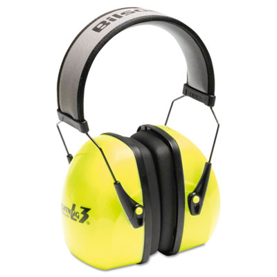 Howard Leight by Honeywell L3HV Hi-Visibility Earmuffs,
