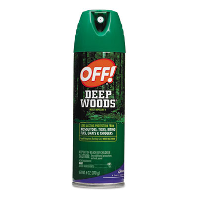 OFF! Deep Woods OFF!, 6 oz Aerosol Can, Unscented