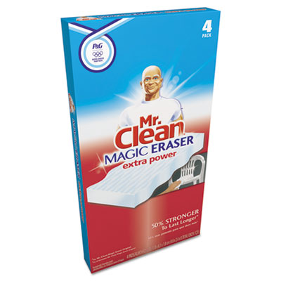 "Mr. Clean Magic Eraser Extra Power, 3 1/2 x 5, 1"" Thick,"