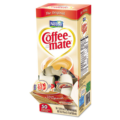 Coffee-mate Original Creamer, .375 oz.