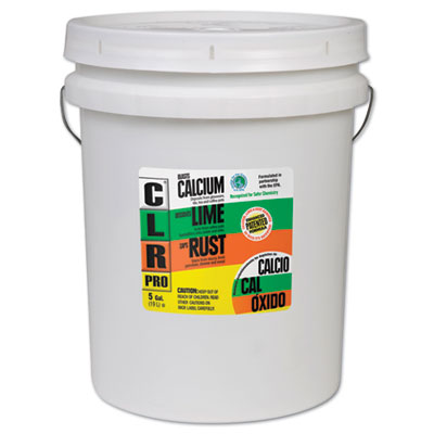 CLR PRO Calcium, Lime and Rust Remover, 5gal Pail