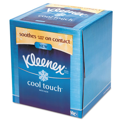 KIMBERLY-CLARK PROFESSIONAL* Cool Touch Facial Tissue, 3