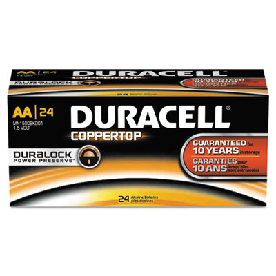 Duracell CopperTop Alkaline Batteries with Duralock Power