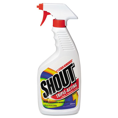Shout Laundry Stain Treatment, Unscented, Trigger