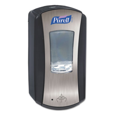 PURELL LTX-12 Dispenser, 1200mL, Chrome/Black