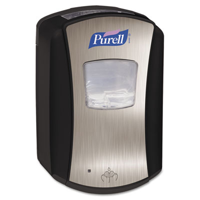 PURELL LTX-7 Dispenser, 700mL, Chrome/Black