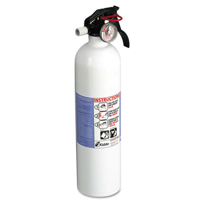 Kidde FX10K Kitchen Fire Extinguisher, 10-B:C, 100psi,