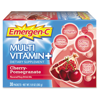 Emergen-C Immune Defense Drink Mix, Cherry