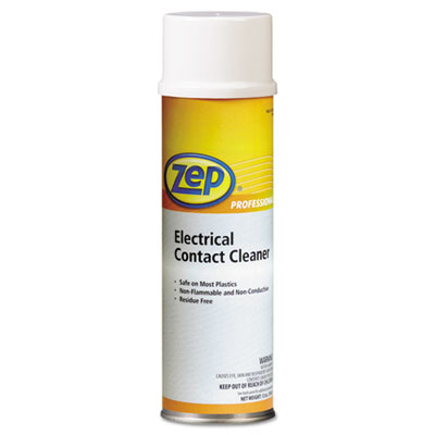 Zep Professional Electrical Contact Cleaner, Neutral,