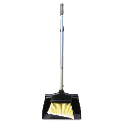 "Unger Ergo Dust Pan with Broom, 12"" Wide, 45"" High,"
