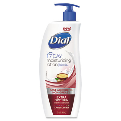 Dial Extra Dry Replenishing Hand and Body Lotion, 21 oz.