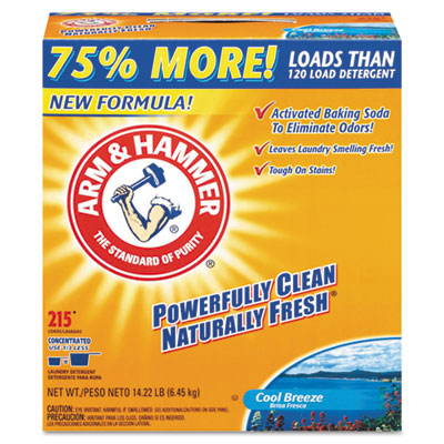 Arm & Hammer Laundry Detergent, 14.22 lb Box