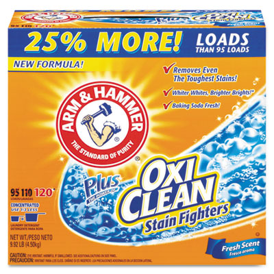 Arm & Hammer Power of OxiClean Powder Detergent,