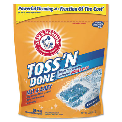 Arm & Hammer Max Force Power Paks, Single Use Packet