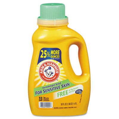 Arm & Hammer HE Compatible Liquid Detergent, Unscented,